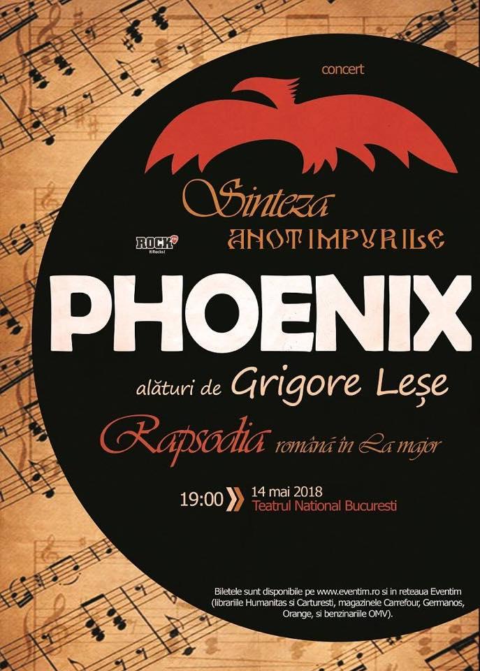Concert Phoenix: Sinteza Anotimpurile și Rapsodia Romana in La Major de Enescu