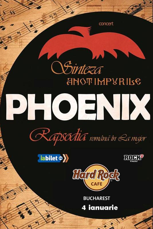 4 ianuarie 2019, formatia Phoenix la Hard Rock Cafe