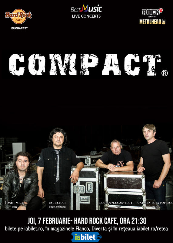 Compact, 7 februarie 2019, Hard Rock Cafe