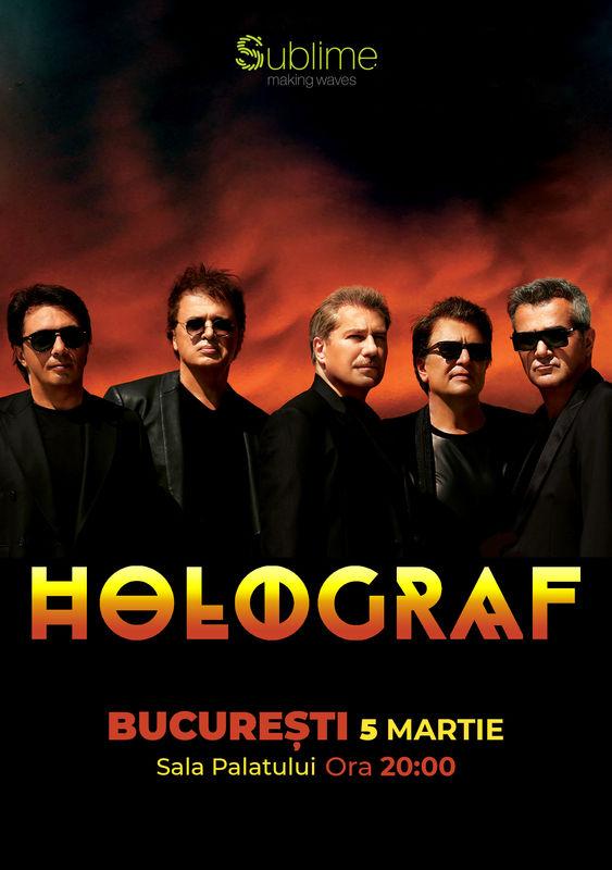 Holograf la Sala Palatului pe 5 martie