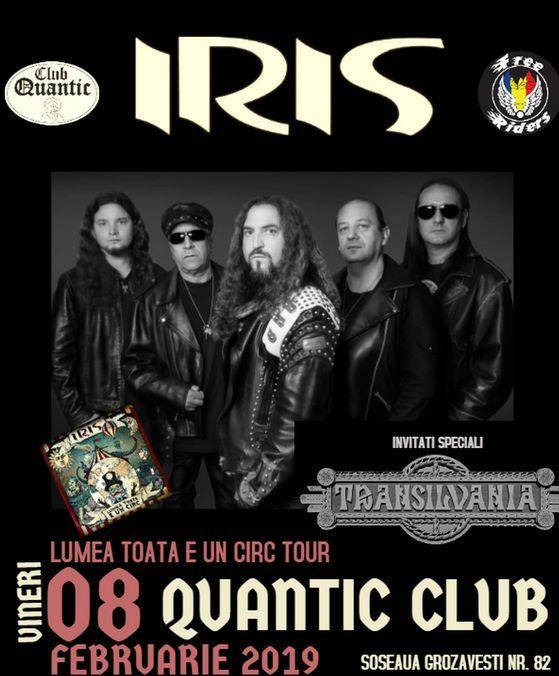 Iris, 8 februarie 2019, Quantic