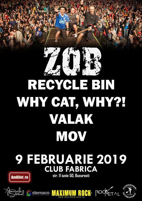 9 februarie 2019, Club Fabrica, ZOB