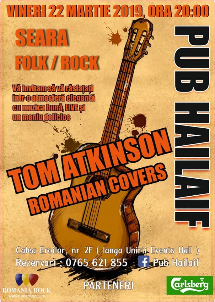 22 Martie, Seara Folk Rock, Pub Hailaif, Buzau
