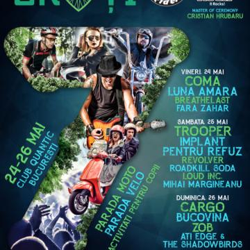 24-26 mai, Festivalul Iubim 2 Roti 2019