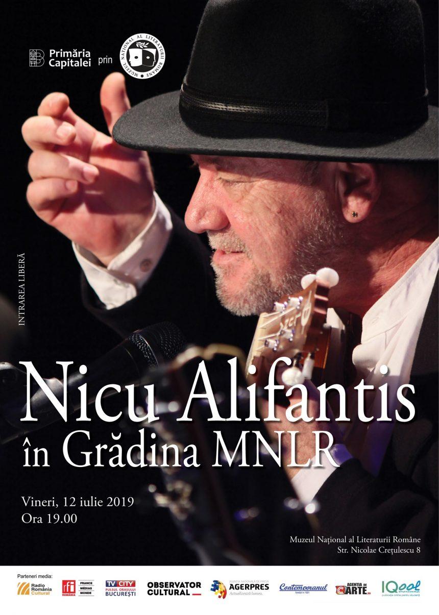 12 Iulie, Nicu Alifantis la Muzeul Naţional al Literaturii Române