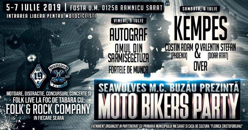 5 - 7 Iulie 2019, cea de-a X-a editie MOTO BIKERS PARTY, Ramnicu Sarat