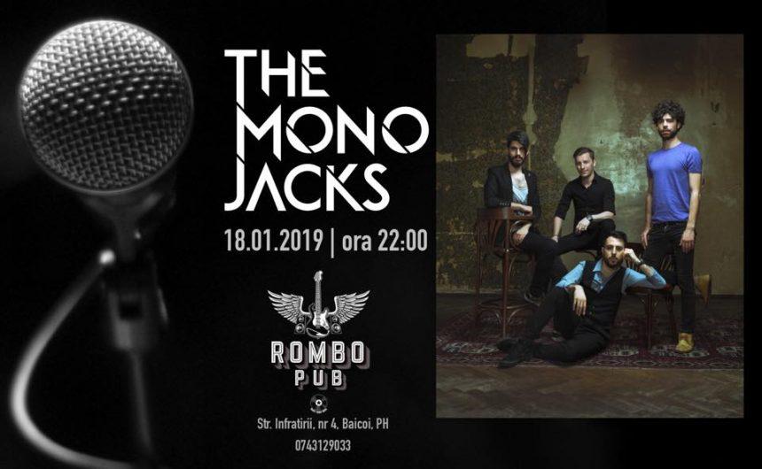 18 ianuarie, concert THE MONO JACKS la Rombo Pub