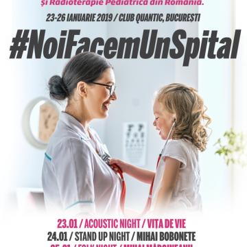 """26 ianuarie, evenimentul NoiFacemUnSpitalajunge la """"Rock Night"""" - Bucovina, in club Quantic"""