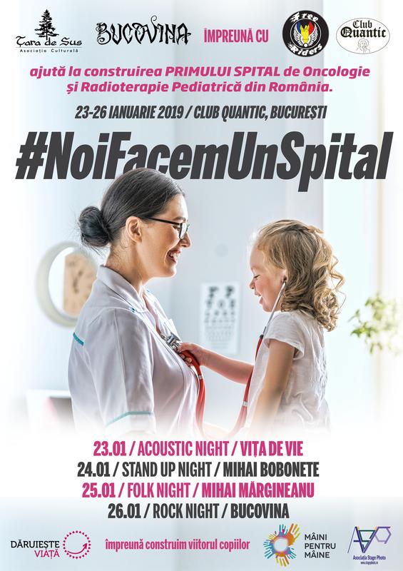 23 ianuarie, Vita de Vie sustine evenimentul NoiFacemUnSpital