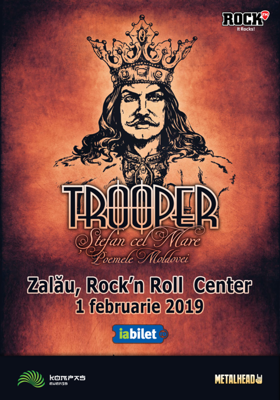 Trooper, Stefan cel Mare – Poemele Moldovei, 1 februarie la Rock'n Roll Center