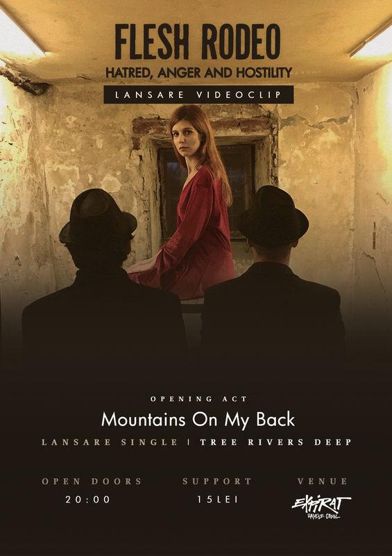 26 februarie 2019 in Expirat - Halele Carol: Flesh Rodeo si Mountains On My Back