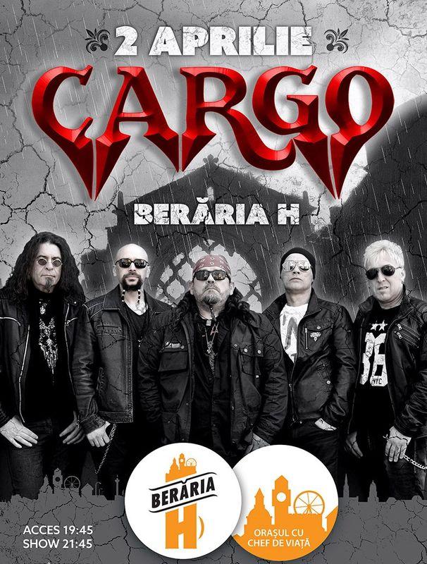 2 Aprilie Concert Cargo la Beraria H
