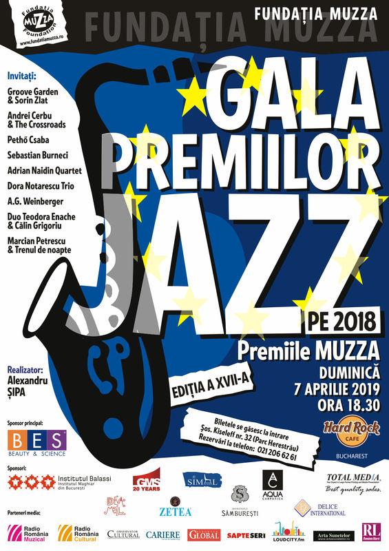 Gala Premiilor de jazz - Premiile MUZZA, Hard Rock Cafe, București, 7 Aprilie