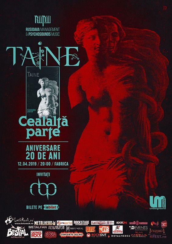12 Aprilie, Taine -