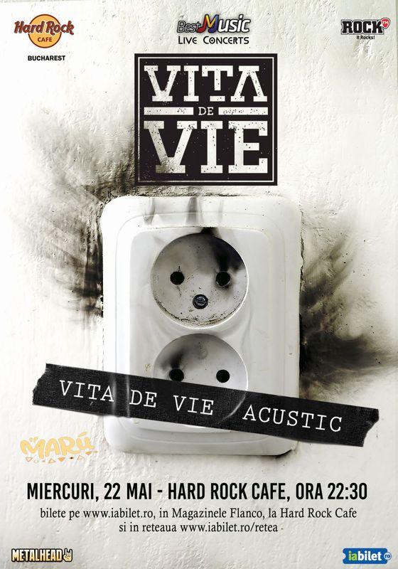 22 mai, concert Vita de Vie