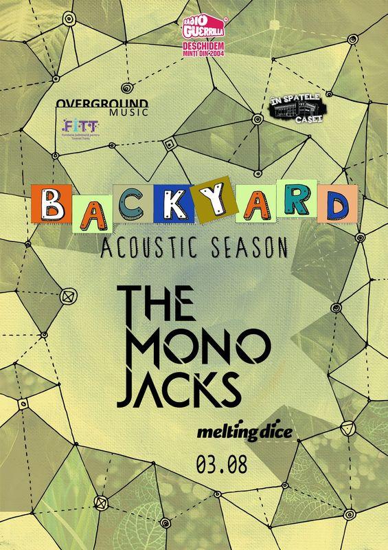 3 august, The Mono Jacks, In spatele casei, Timisoara